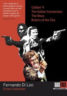 DVD cover - Fernando Di Leo Crime Collection